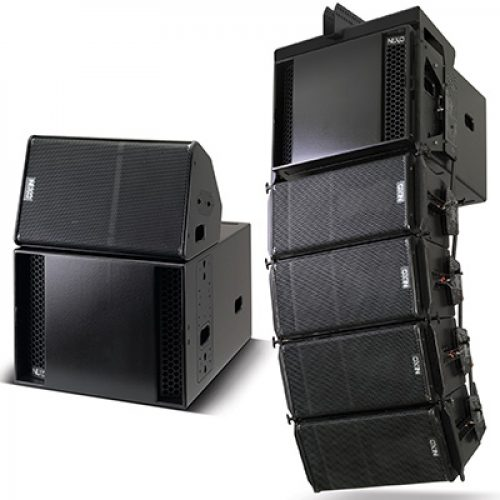 rent line array nexo M10